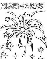 Fireworks Coloring Pages Bonfire Printable Firework Colouring Night July Adult Cool2bkids Sheets 4th Fourth Preschool Bang Adults Clipart Getcolorings Colorful sketch template