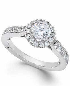 marchesa estate halo by certified diamond engagement ring With certified diamond wedding rings