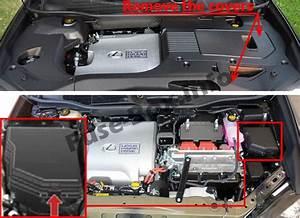 Fuse Box Diagram Lexus Rx450h  Al10  2010