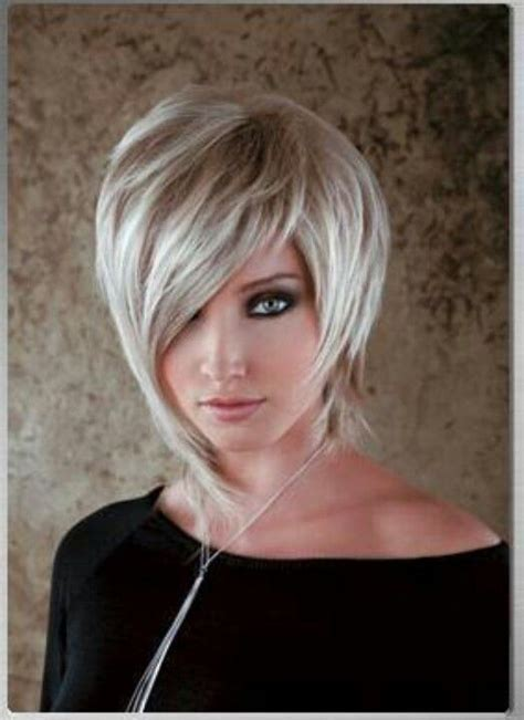 asymmetrical haircut and wonderful color hairstyles