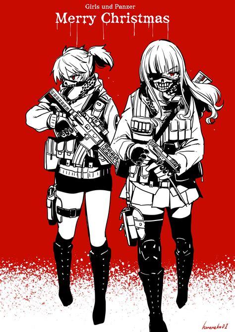 Takebe Saori And Alisa Girls Und Panzer Drawn By Hone