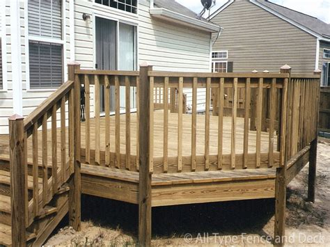 cheap home interiors fence post caps wood deck railing design ideas deck