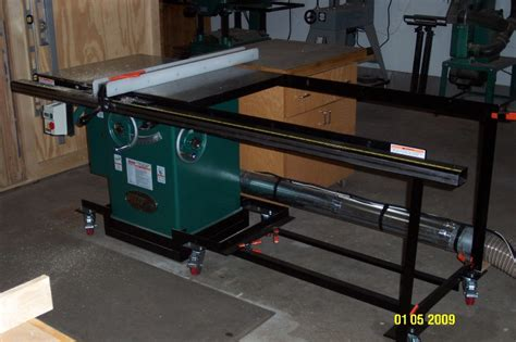 Cabinet Table Saw Mobile Base by Question On Mobile Bases