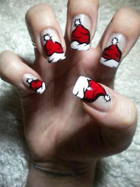 nageldesign weihnachten  inspirierende fingernaegel ideen