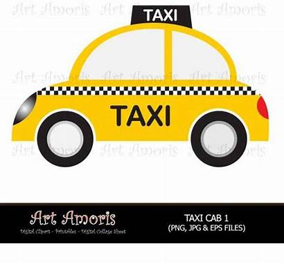 Taxi Cab Clipart York Clip Yellow Cars