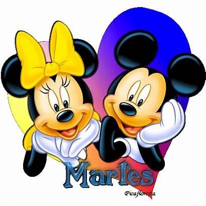 Minnie Mickey Corazon Martes Dias Imagen Gabitos