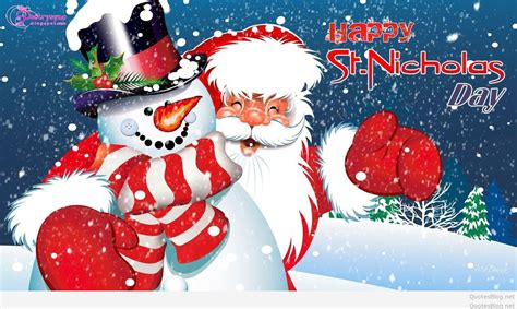 best happy christmas st nicholas day quotes sayings 2015
