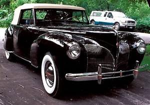1941 Lincoln Continental Zephyr  2 Door  Convertible  For