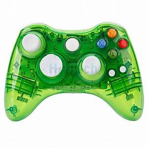 Green Afterglow Wireless Remote Gamepad Controller For