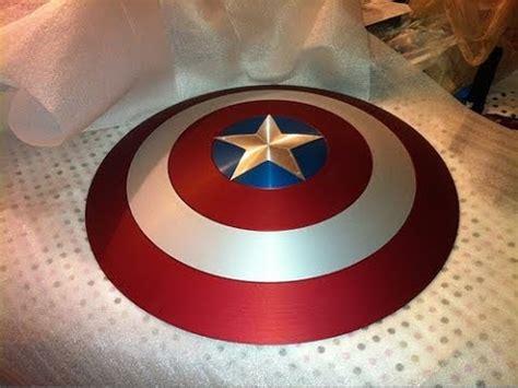 captain america shield diy tutorial youtube