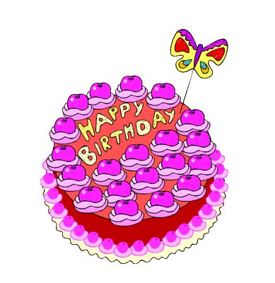 pictures animations cake myspace cliparts