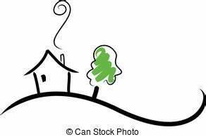 Haus Strichzeichnung Einfach : h gel illustrationen und clip art h gel lizenzfreie illustrationen und zeichnungen von ~ Watch28wear.com Haus und Dekorationen