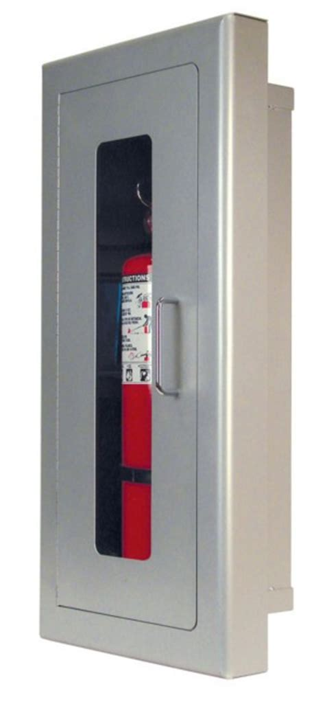 Semi Recessed Extinguisher Cabinet Revit by Extinguisher Cabinets Strike Corp Of America