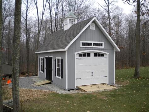 Craftsman Style Shed With Transom Window And Great Door