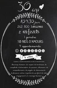 Quoi Offrir Pour Une Naissance : souvenir pour souligner un 30e anniversaire de mariage wedding 30years 30 mes prochains ~ Melissatoandfro.com Idées de Décoration