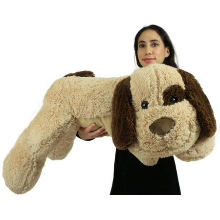 extra large stuffed puppy dog   big plush soft