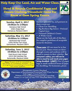 free shredding events maryland community shred days free With document shredding pasadena ca