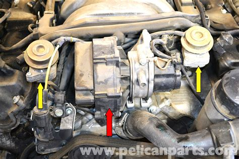 mercedes benz  air pump check valve replacement