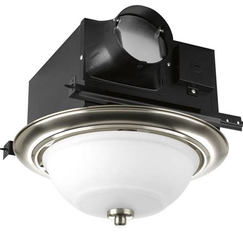 decorative exhaust fan with light progress lighting decorative bathroom exhaust fan x