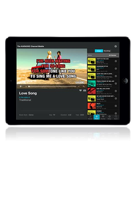 best karaoke app for iphone the karaoke channel mobile app for iphone ipod touch