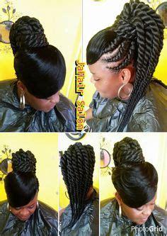 cornrows   bun  bangs fabulous hair hair