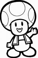Mushroom Coloring Mario Super Pages Printable Print Getcolorings sketch template