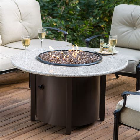 california outdoor concepts napa gas fire pit table fire