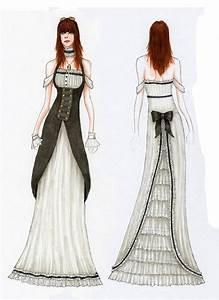 Steampunk victorian dress sketch | Steampunk sketches ...