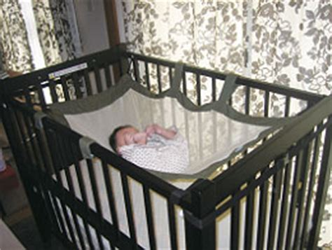 Hammock Baby Bed by Maternityshop ハグモックベビーハンモック Mock Crib Installation Baby