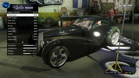 Gta V Z Type Car Customization! Rare!!