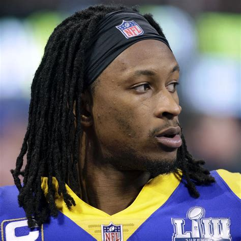 todd gurley knee injury worse  expected  cj