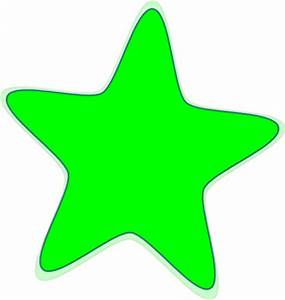 Neon Green Star Clip Art at Clker.com - vector clip art ...