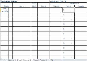 Excel Ledger Templates Small Business Bookkeeping Template Bookkeeping