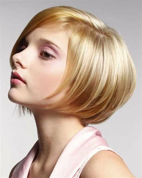 short bob hairstyles haircuts  women   blonde