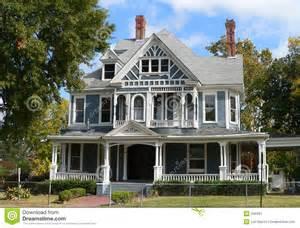 farmhouse houseplans maison victorienne image stock image 340351