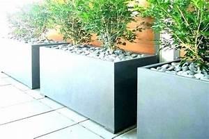 Modern, Rectangular, Planter