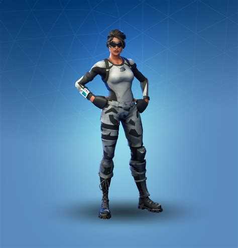 arctic assassin fortnite outfit skin    info