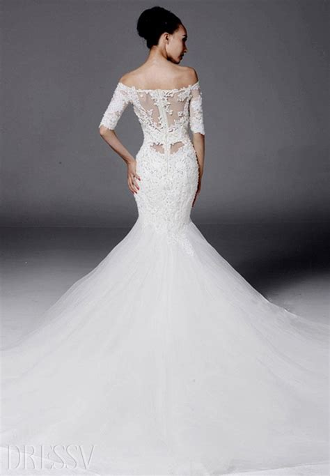 are mermaid wedding dresses a trend the fashion tag blog