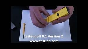 Testeur Ph Et Chlore Electronique : stylo testeur ph lectronique v2 precision 0 1 youtube ~ Dode.kayakingforconservation.com Idées de Décoration