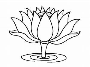 Buddhism Lotus Flower Coloring Pages : Batch Coloring