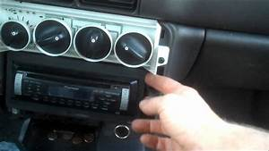 Radio Trim Remove Dodge Neon 1997 Install Replace Replacement How To