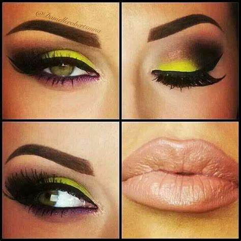 fabulous neon eye makeup ideas  women pretty designs