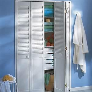 Portes De Placards : porte de placard pliante blanc 205x61cm leroy merlin ~ Dode.kayakingforconservation.com Idées de Décoration