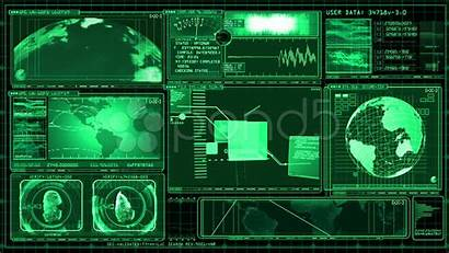 Computer Screen Science Interface Fiction Gui Technology