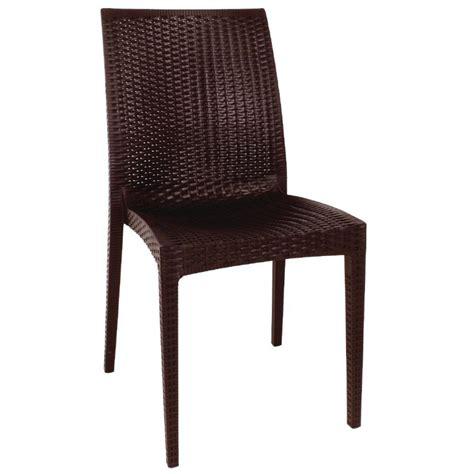 chaise en rotin gris lot chaises en rotin gris anthracite gastromastro sas