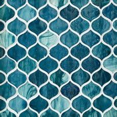 Marina Del Ray Arabesque Glass Mosaic   8 x 10   100463090