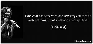 Material Things... Material Movie Quotes