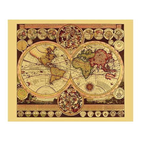 Acheter Carte Du Monde En Relief by Carte Du Monde Historique Imprim 233 En Relief Aluminium
