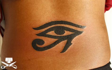 tribal eye  horus tattoo hautedraws