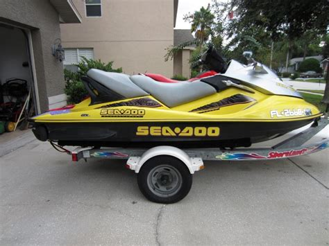 Sea Doo Boat Model Reference by 2005 Sea Doo Gtx 4 Tec Supercharged Go4carz